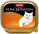 Animonda vom Feinsten Katzenfutter Adult mit Geflügel + Kalb, 32er Pack (32 x 100 g)