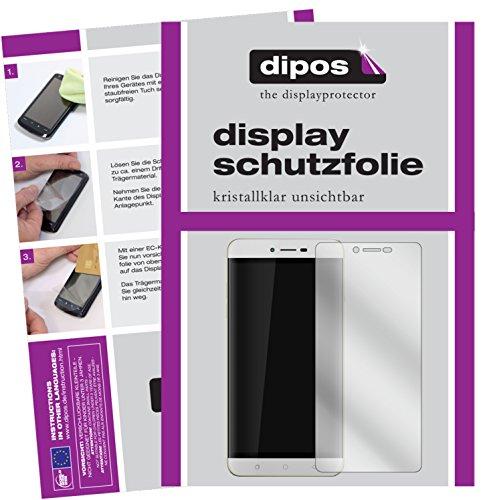 dipos I 6X Schutzfolie klar passend für Coolpad Torino R108 Folie Bildschirmschutzfolie