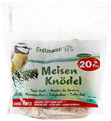Erdtmann Suet Balls without Net, Pack of 20 from Christoph & Franz Erdtmann OHG