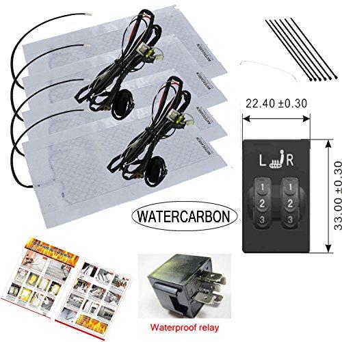 water-carbon-sedile-riscaldato-per-toyota-rav4-dedicato-a-2-ruote-automatico-built-in-utilizzato-sca