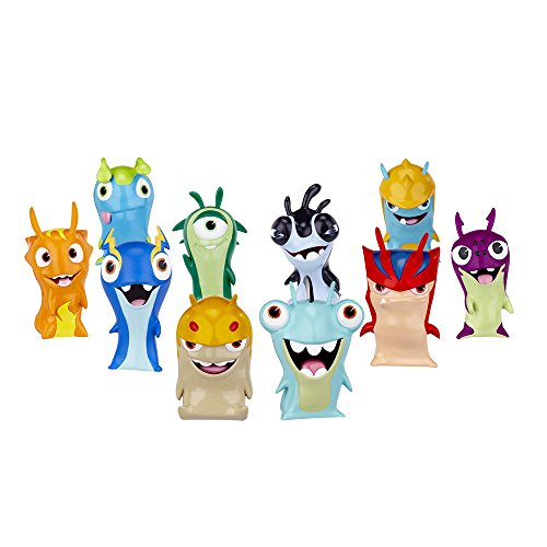 Pack tubo 5 slugs, playset / Slugterra
