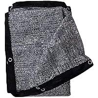 Soclear Aluminet Shade Cloth Fabric Sun Block Sun Reflect Pet Shade - 10 ft x 10 ft
