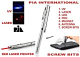 7 FUNCTION RED LASER POINTER -PIA INTERN...