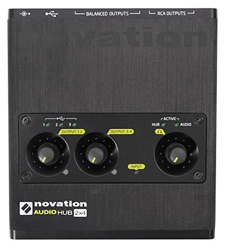 novation-audiohub-2-x-4-combined-audio-interface-and-usb-hub