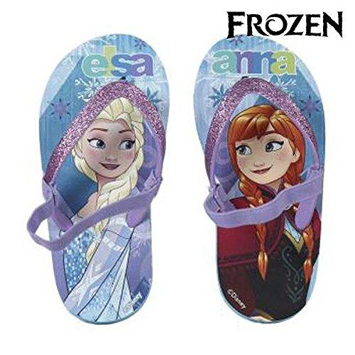 Artesanía Cerdá Disney Frozen 2300002355 Sandali Glitter, Infradito con Elastico, Bambina (32/33)
