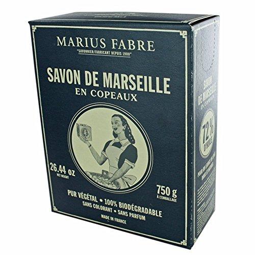 Copeaux de Savon de Marseille 750 g dans une boîte NATURE