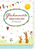 Produkt-Bild: Fotokarten-Box - Glücksmomente - Babys erstes Jahr: 33 Fotokarten