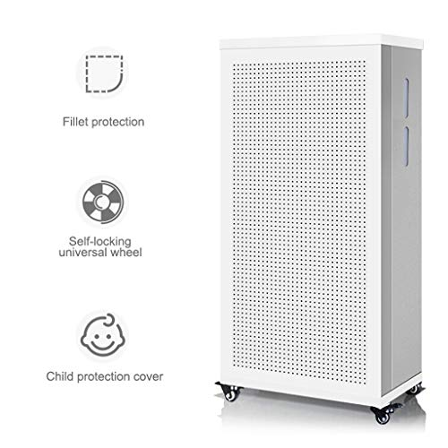 51l0uXIZqwL. SS500  - Air Purifier, High Efficiency Purification System with Hepa Filter and Universal Wheel for Allergies Eliminator Smoke/Harmful Gas - Home