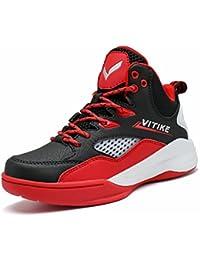Zapatillas de baloncesto infantil Zapatillas de baloncesto deportivo Transpirable Zapatillas de baloncesto antideslizante Zapatillas deportivas