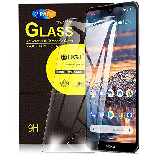 KuGi. pour Verre trempé Nokia 4.2, [Dureté 9H] HD Ultra Transparent Protection écran en Verre trempé pour Nokia 4.2 (Pack de 2)