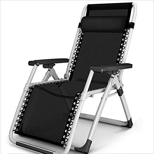 WJJJ Lehn- Klappstuhl mit Armlehnen-Rückenlehne für Gartenterrasse Außenlegierung tragbarer lehnbarer moderner lässiger Designerstuhl