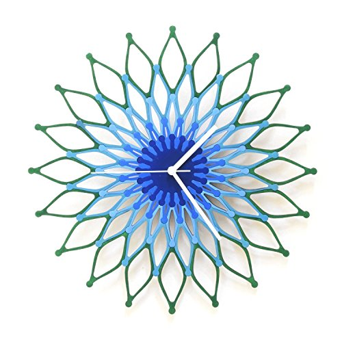 peacock-large-stylish-wooden-wall-clock-sunburst-clock