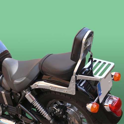 Respaldo con Porta SPAAN Honda Vt 125 Shadow