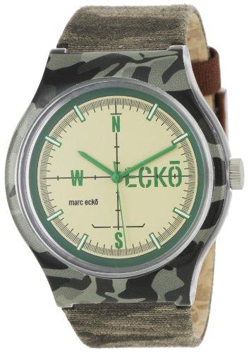 Marc Ecko Reloj Análogo clásico para Hombre de Cuarzo con Correa en Nailon E06509M1