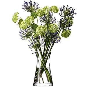 LSA International–Vase bouquet de fleurs Transparent 29cm