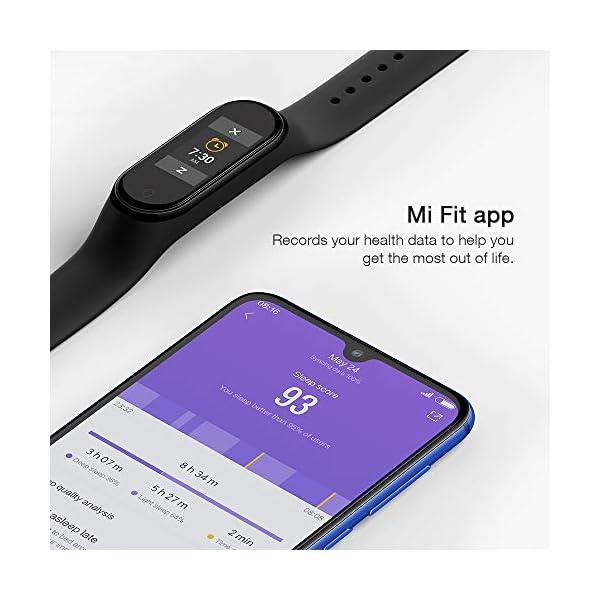 Xiaomi Smart Band 4, Adultos Unisex, Negro, Talla única 8