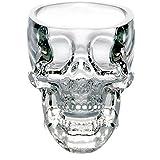 niceeshop(TM) Fantastic Crystal Skull Face Cup /Shot Glass For Vodka/Wine