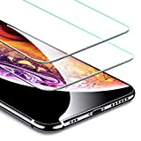 Image of ESR iPhone Xs/X Screen Protector [2 Pack] [Free Installation Frame], Premium Tempered Glass Screen Protector for iPhone Xs (2018)/iPhone X (2017) 5.8 inch