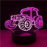 3D Cool Beach Buggy Auto Led Nachtlicht 7 Farbverlauf Lampara Hombre Kinder Schlaf Weihnachten Geburtstagsparty Geschenk