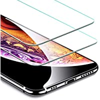 ESR Screen Protector for iPhone Xs/X [2 Pack] [Free Installation Frame], Premium Tempered Glass Screen Protector for iPhone Xs (2018)/iPhone X (2017) 5.8 inch