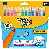 Bic Kids Kid Couleur XL Feutre ultra lavable Couleurs assorties
