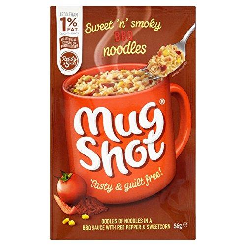 Mug Shot BBQ Noodles 56g