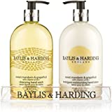 Mosaic Bottle Hand Wash and Hand Lotion Set 2x 500ml in Clear Stand