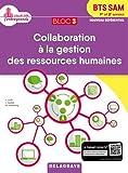 Bloc 3 - Collaboration à la gestion des ressources humaines BTS SAM 1re & 2e  année : Pochette élève
