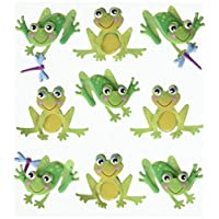 Jolees Boutique Dimensional Stickers-Cutesy Frogs
