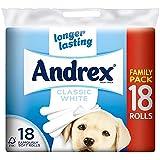 Andrex Toilette Blanche Classique Rouleaux De Papier - 240 Feuilles Par Rouleau (18)