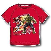 Avengers Hulk Camiseta Maillot de Manga Corta Para Niño, Diseño de la Era de Ultrón