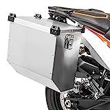 Motorrad Alukoffer für Suzuki V-Strom 1000 / XT Bagtecs Atlas 36l Aluminium-Seitenkoffer