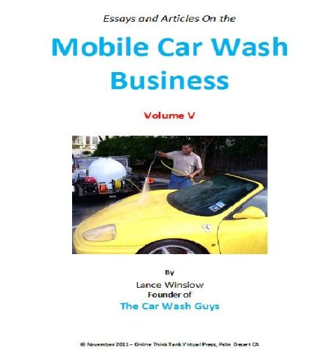 Mobile Car Wash Business - Articles and
