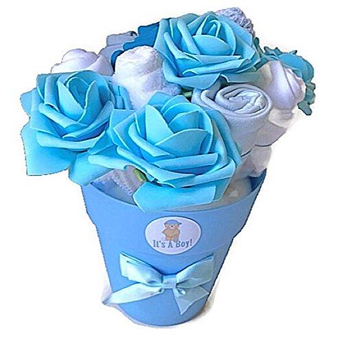 7934add8bb38d Bébé Garçon nouveau-né Bouquet de vêtements pour bébé Cadeau de douche  Nouvelle Maman