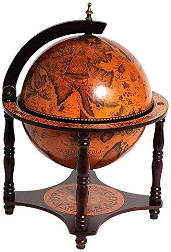 Old World Nautisches 13-in. Tischplatte Bar Globe