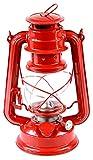 Petroleumlampe Petroleumlaterne Outddor Camping Petroleum Lampen 24cm verschiedene Modelle (rot)