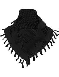 TACVASEN Military 100% Cotton Arab Shemagh Tactical Desert Keffiyeh Head Scarf Wrap Shawl