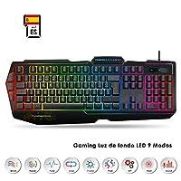 EMPIRE GAMING – Teclado Gaming K900 QWERTY- 105...