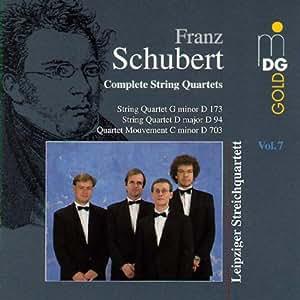 Franz Schubert Complete String Quartets