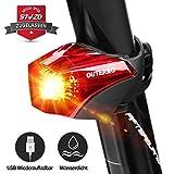 OUTERDO Fahrrad Rücklicht,StVZO Zugelassen Fahrradrücklicht Hohe Qualität...