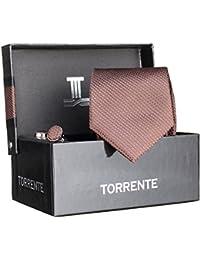 Torrente - Cravate Coffret Cofc29 Marron
