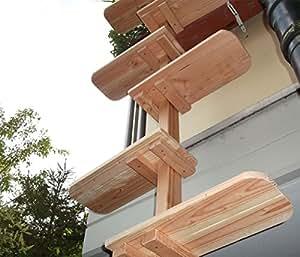 katzenleiter katzentreppe natur katzenbaum katzen treppe. Black Bedroom Furniture Sets. Home Design Ideas