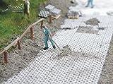 Juweela 28190 Rasengittersteine grau