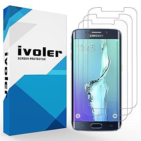 [Neue Version] iVoler Galaxy S6 Edge Plus Schutzfolie Displayschutzfolie, [3