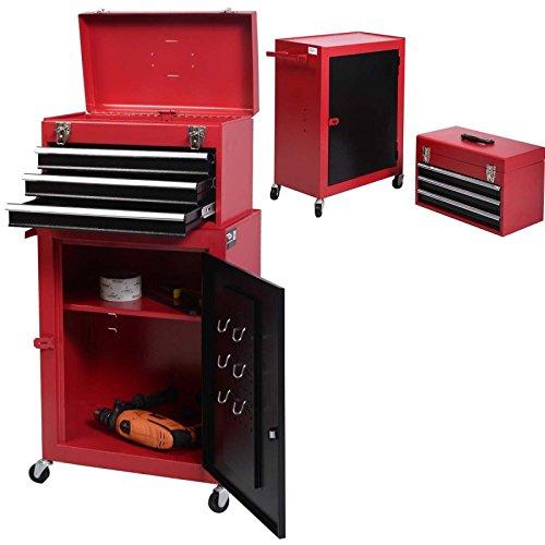 '* Tool Box Cabinet T-Box Schrank Schublade T Mechaniker-Toolbox Garag Rolling Werkzeugtruhe olbox GA Toolbox Garage (Schublade-tool-box)