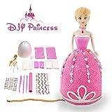 Kit Princess Slime, Aitsite mullido Slime Princess Juguete DIY Easy Making Slime Princess No Borax y Non Toxic Scented Regalo de Navidad para Niños y Adultos (Rosado)