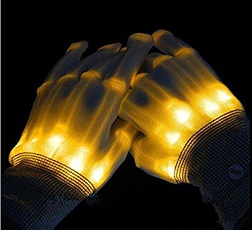 LED-Leuchthandschuhe