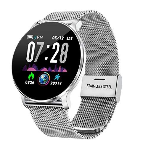 TagoBee TB11 IP68 Waterproof SmartWatch Fitness Tracker Benachrichtigungen Anruferinnerung kompatibel mit Android und IOS