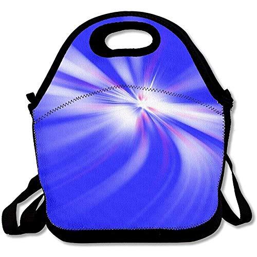 Wiederverwendbare, leichte und dicke Neopren-Lunch-Taschen, isolierte Lunch-Tasche, Kühltasche, warm, mit Schultergurt, für Damen, Teenager, Mädchen, Kinder, Erwachsene
