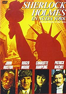 Sherlock Holmes In New York (1976) - Official Region Free PAL release, plays in English without subtitles by Roger Moore
